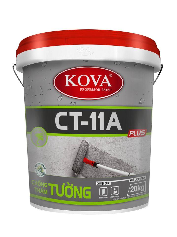 Dùng Chất Chống Thấm KOVA CT-11A Plus Tường