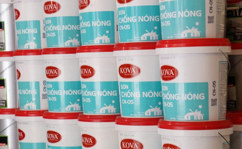 Những địa chỉ mua sơn KOVA CN-05 uy tín không lo về chất lượng