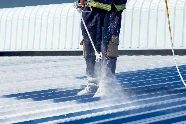 Quy trình thi công Sơn Chống Nóng KOVA CN-05 cho mái tôn