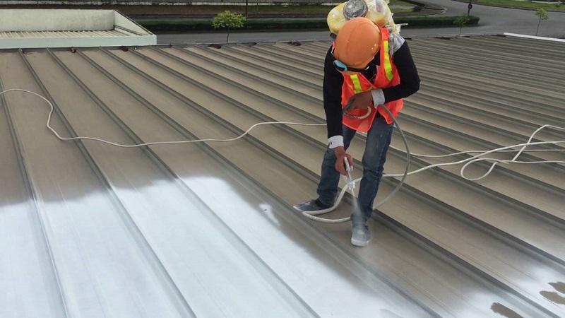 Lợi ích của việc sử dụng sơn chống nóngcho mái tôn
